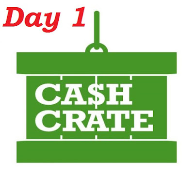 Day 1 using Cashcrate