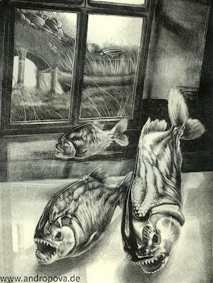 """""""Parallelitum"""" - Schablithografie - Galerie Schablithografie ᛝ www.andropova.de ᛝ"""