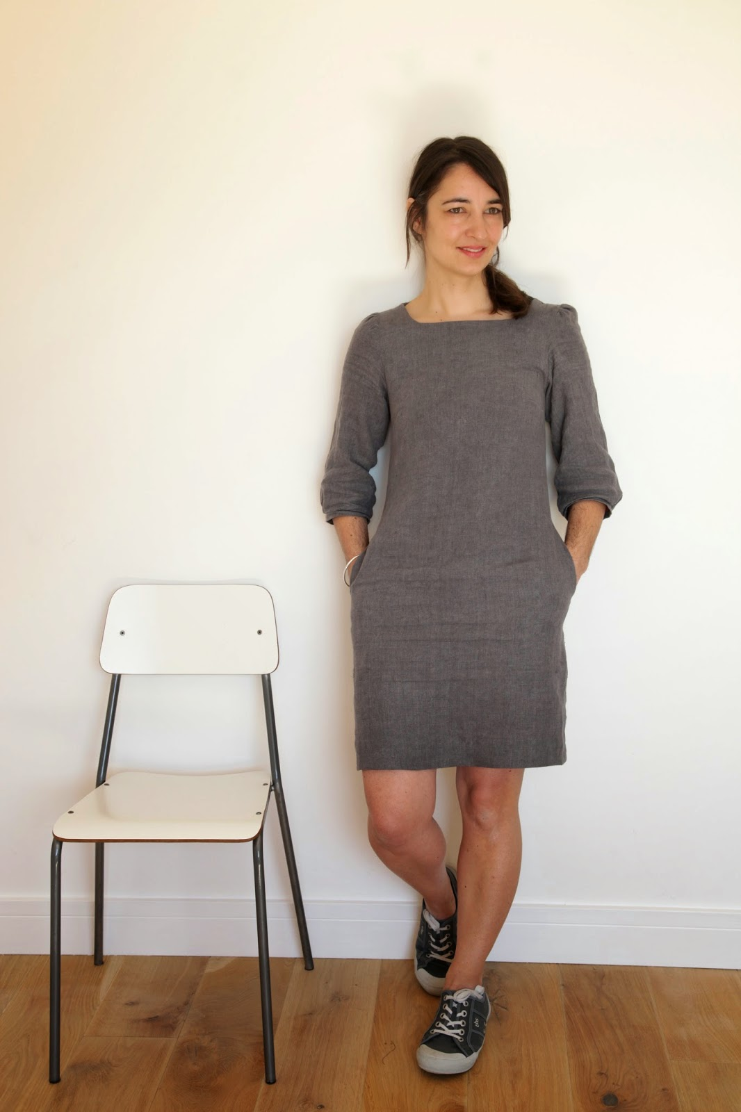 Merchant and Mills, linen, Vanessa Pouzet, la petite robe, as-it-seams