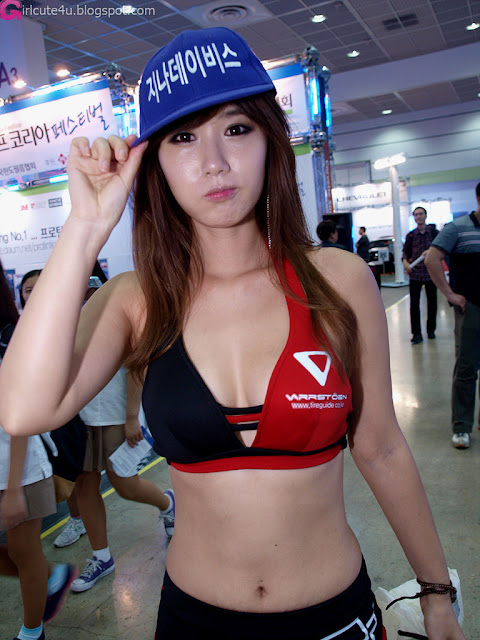 3 Song Jina - Seoul Auto Salon 2012-Very cute asian girl - girlcute4u.blogspot.com