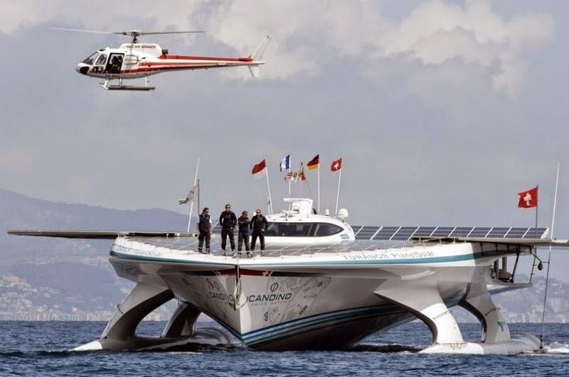 Turanor PlanetSolar yacht