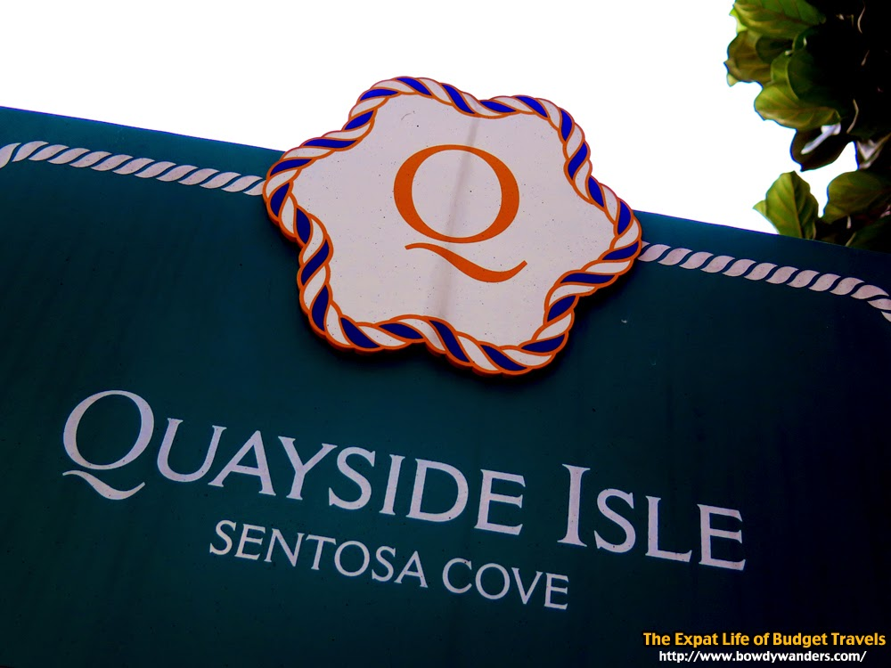 Quick Guide to Hanging Out at Sentosa Quayside Isle