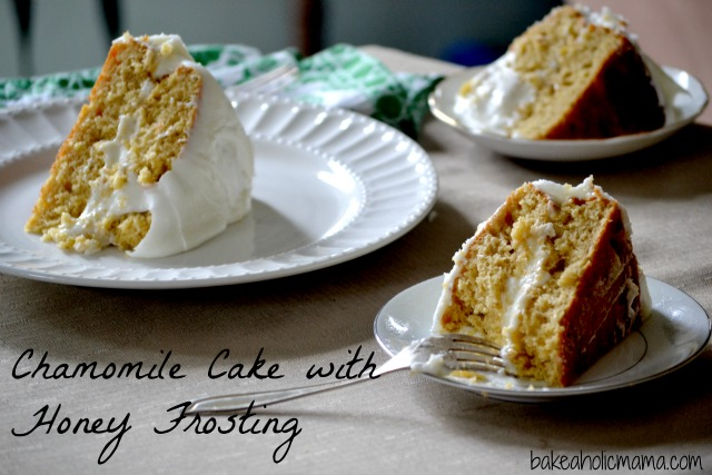 Chamomile Cake with Honey Frosting to Celebrate Sundays With Joy's 1st ...