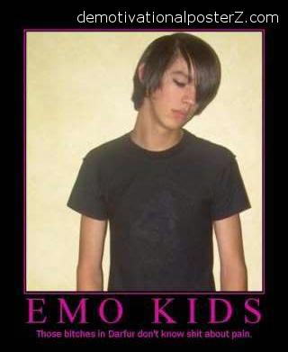 stupid emo kid