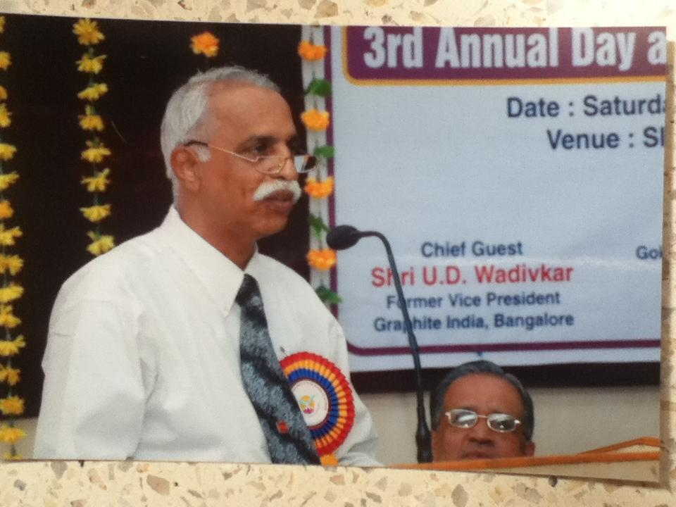 Ulhasmanjiri: Annual Day Speech at Sir MS Gosavi Institute ...