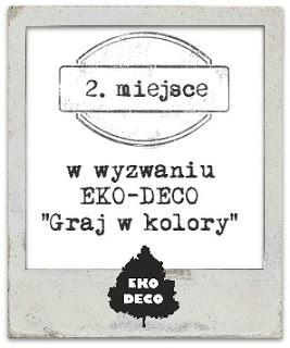 II miejsce EKO - DECO