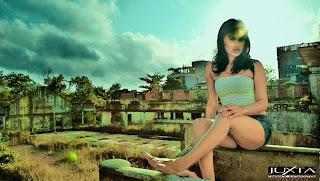 Model Chathu Paba Dilhara legs