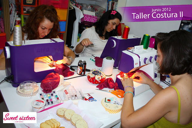 Taller Costura II, Sweet sixteen craft store, Madrid