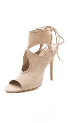 SEXY THING CUTOUT BOOTIES AQUAZZURA