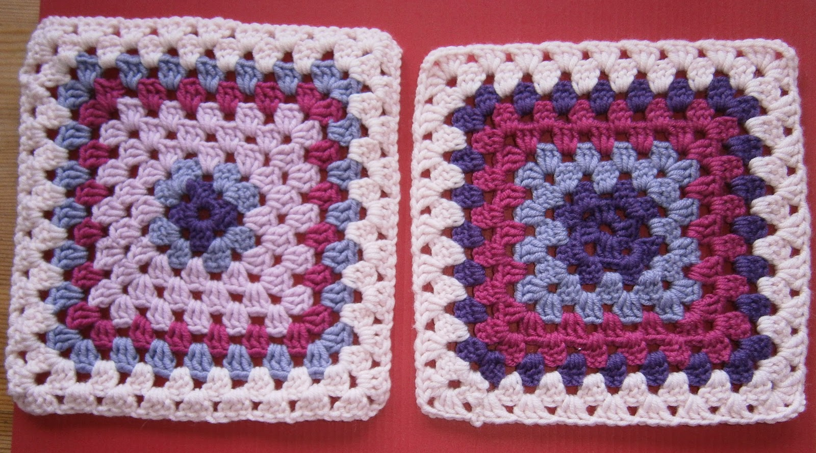 Not only paper: A Granny makes ... Granny Squares!