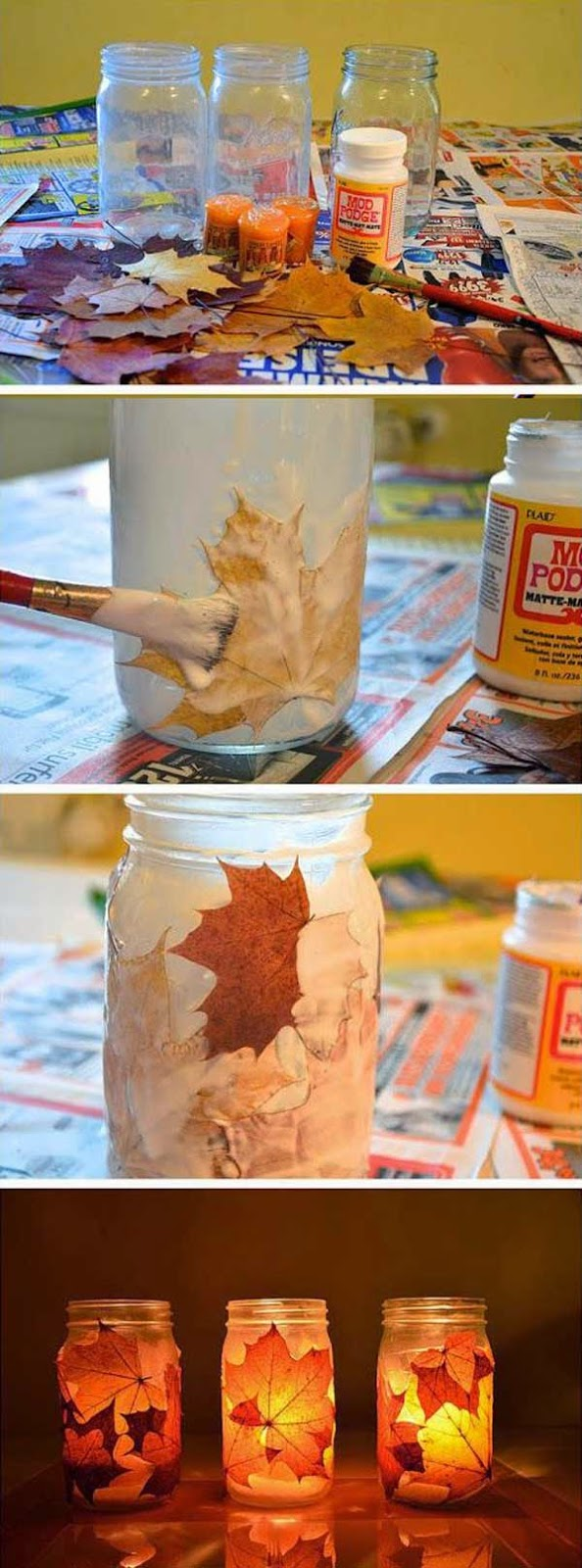 Home Decoration 25 Fall Inspired Home Decorations With Leaves