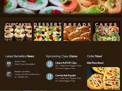 Ramekins Homebakery Website
