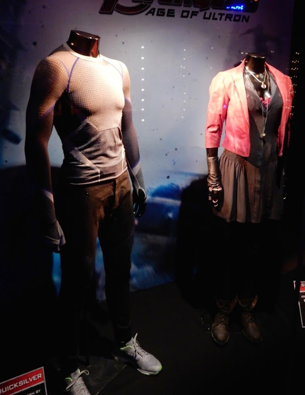 Avengers Age of Ultron Pietro Wanda Maximoff costumes