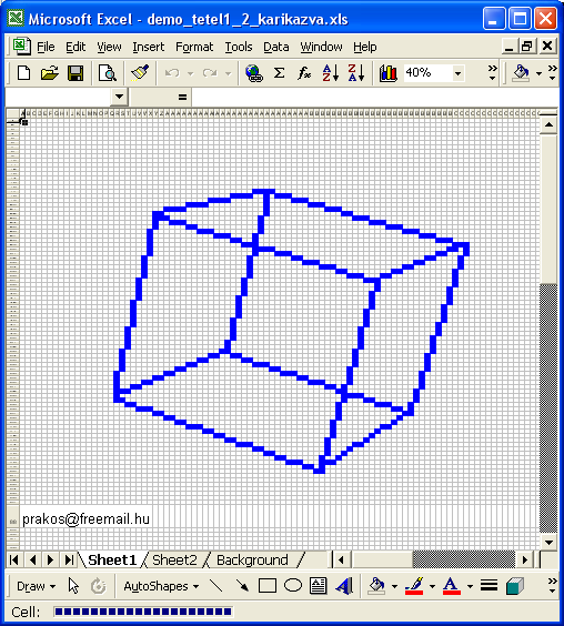 excel 3d graphics engine