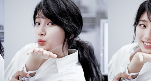 Bae Suzy Pure White Beauty Photo
