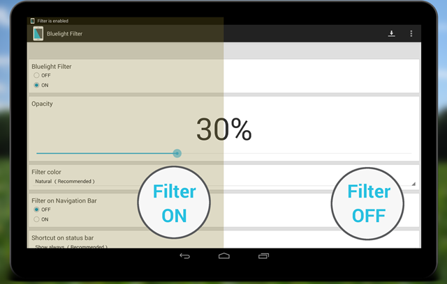 Aplikasi Android Pelindung Mata