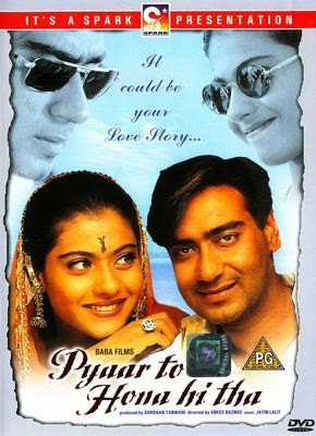 Pyaar To Hona Hi Tha 1998 Hindi DVDRip 400mb