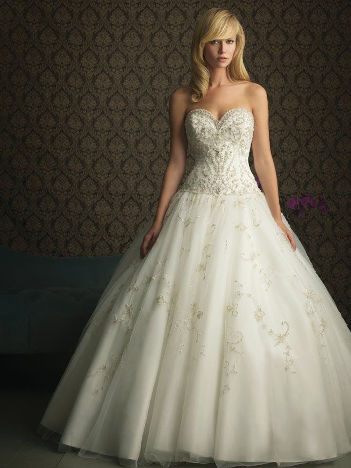 Unique Picture Ivory Strapless Ball Gown Unique Simple Designer Wedding Dress Prlog