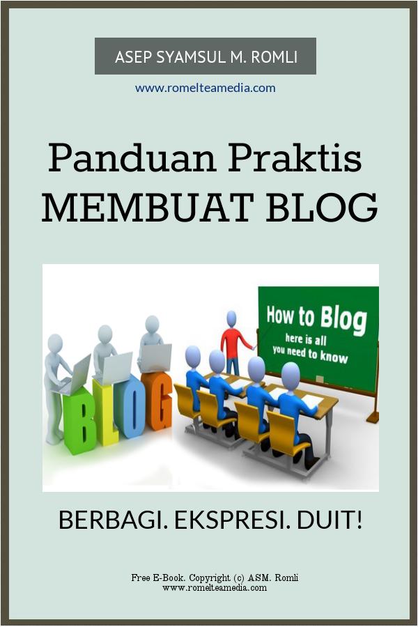 Panduan Praktis Membuat Blog