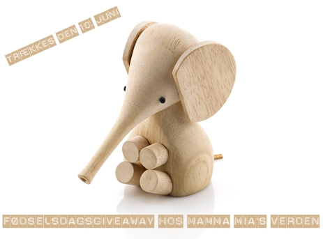 Give Away hos Mamma Mia's Verden