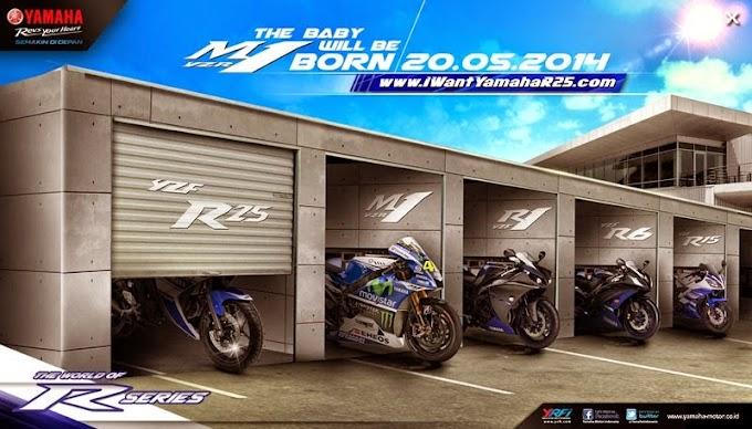 Inden Online Yamaha R25 Dibuka Setelah Launching