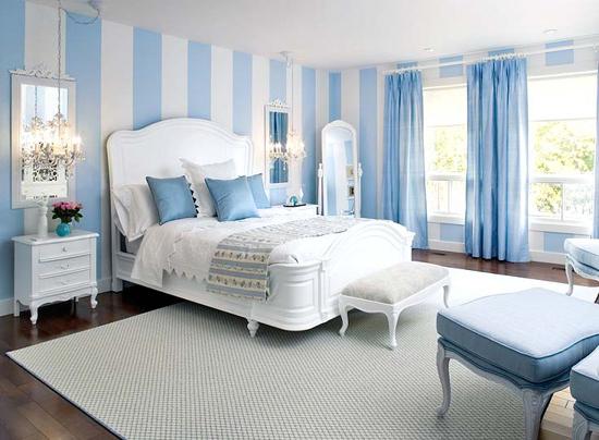 Dormitorios azules dormitorios con estilo - Habitaciones de color azul ...