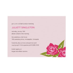 Light Pink Wedding Invitations