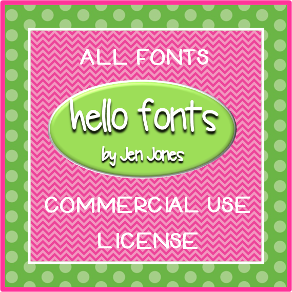 Hello Literacy Fonts
