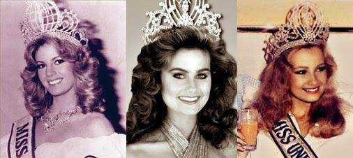 Misses Universo 81 - 82 - 83