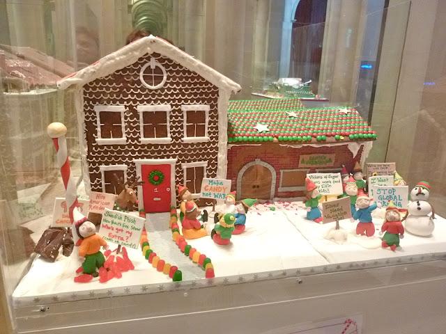 Keluarga Bengkel Gingerbread dirancang
