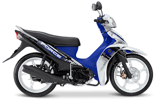 Yamaha Force F1 Injeksi White Force (putih kombinasi biru)