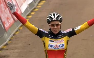 Sanne Cant remporte le Scheldecross 2014