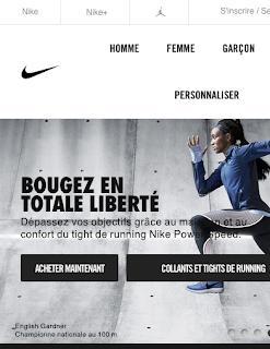 Nike n'as plus besoin d'afficher sa marque à coté de son logo