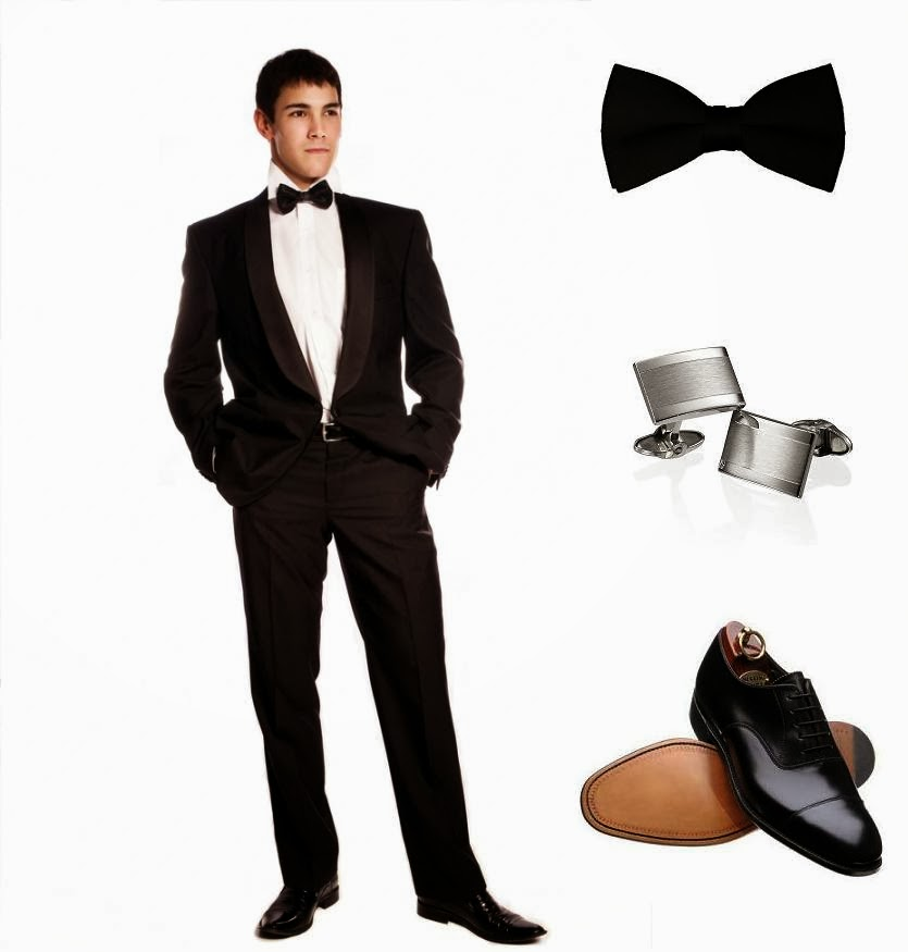 Dress for a black tie dinner