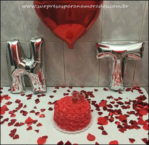 Moda  Balões Metalizados para Festas  Surpresas para Namorados