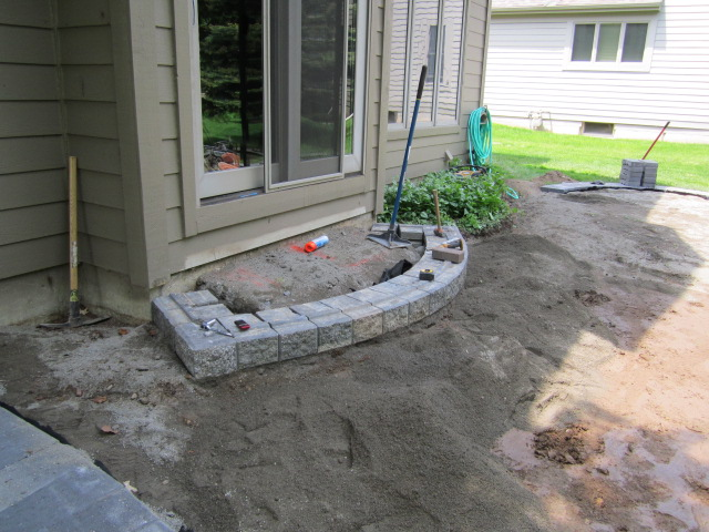 Installation Of A Paver Patio Youtube Roseville Brick Paver Patio