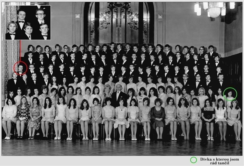 Kursy tance - taneční - počátek 70 let