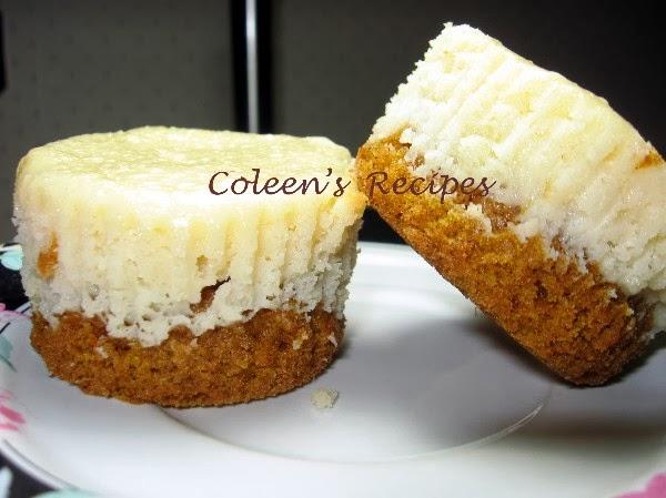Coleen's Recipes: PUMPKIN CAKE CHEESECAKE