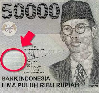 Uang 50000 Rupiah, Rp. 50000, 50 Ribu