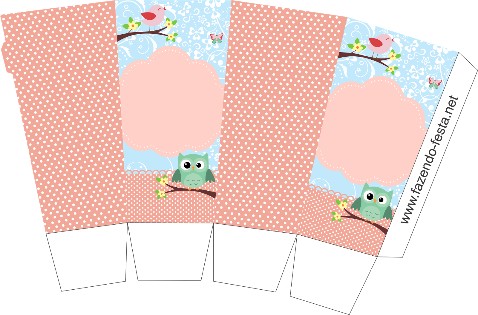 Bird and owl free printable mini kit oh my fiesta in for Free box templates