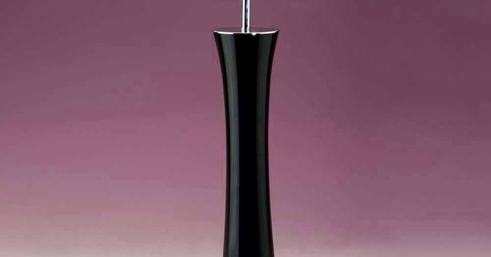 tischleuchten aus glas und kristall gro e schwarze tischleuchte aus glas bow. Black Bedroom Furniture Sets. Home Design Ideas