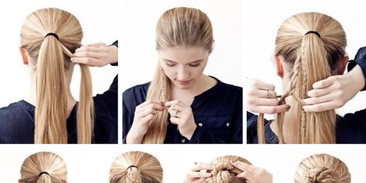 How to make a messy bun with straight hair best hairstyles 2017 how to make a messy bun with long straight hair emaggy urmus Gallery