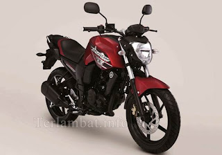Gambar Yamaha Byson Deep Red Metallic (Merah)