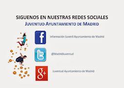 Nuevas redes sociales dedicadas a juventud, del Ayto. de Madrid