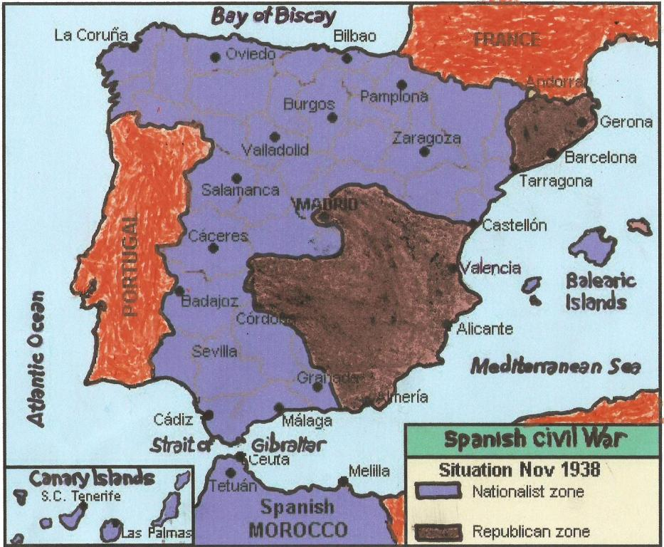 a history of the spanish civil war The spanish civil war is frequently remembered as a crucial and important moment in the history of spanish people to be possible to understand how thousands of persons were killed during this war, it must be ask why the spanish civil war broke out in first place.