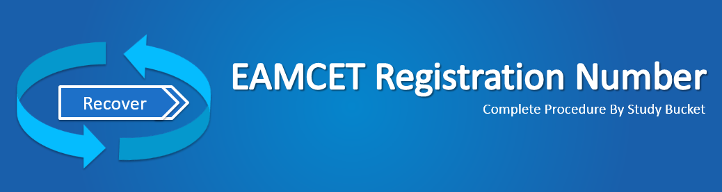 how to recover eamcet forgotten registration number