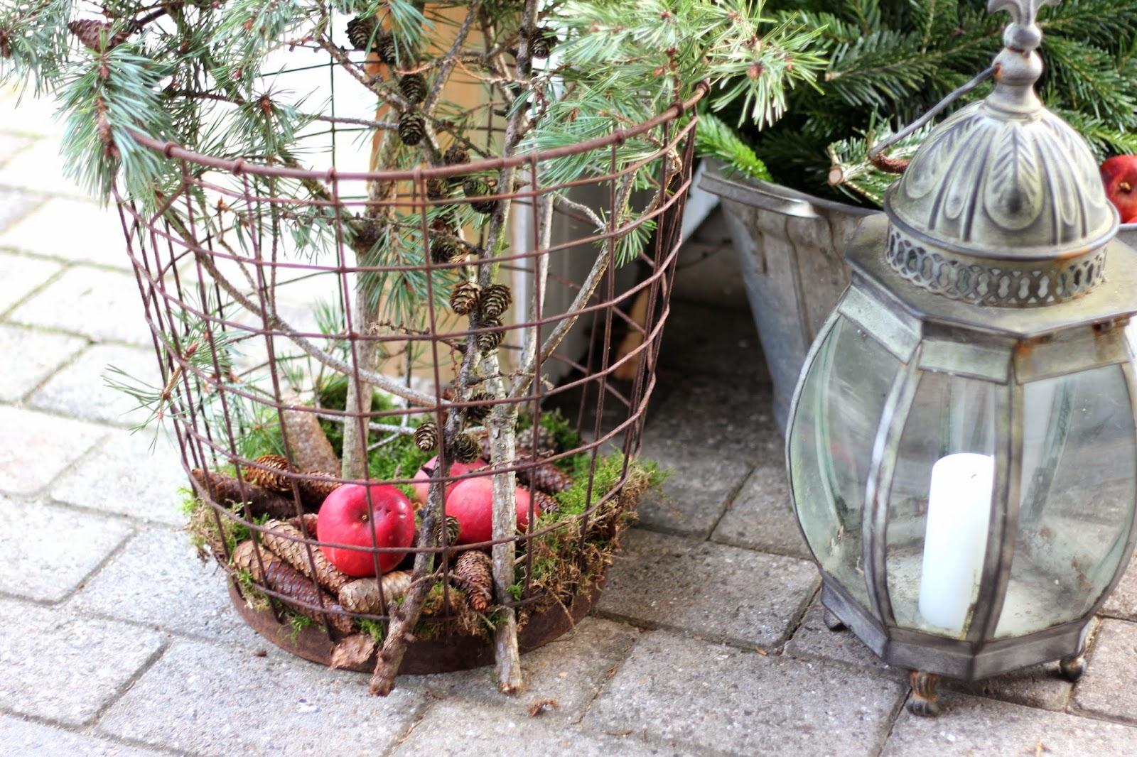 ævlebævle: Naturlig pynt udendørs