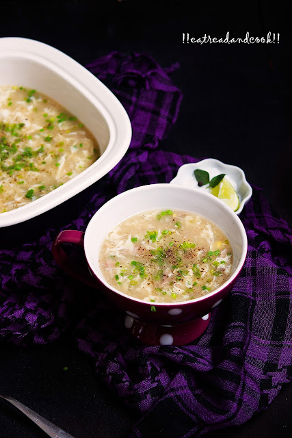 how to make corn egg drop soup recipe