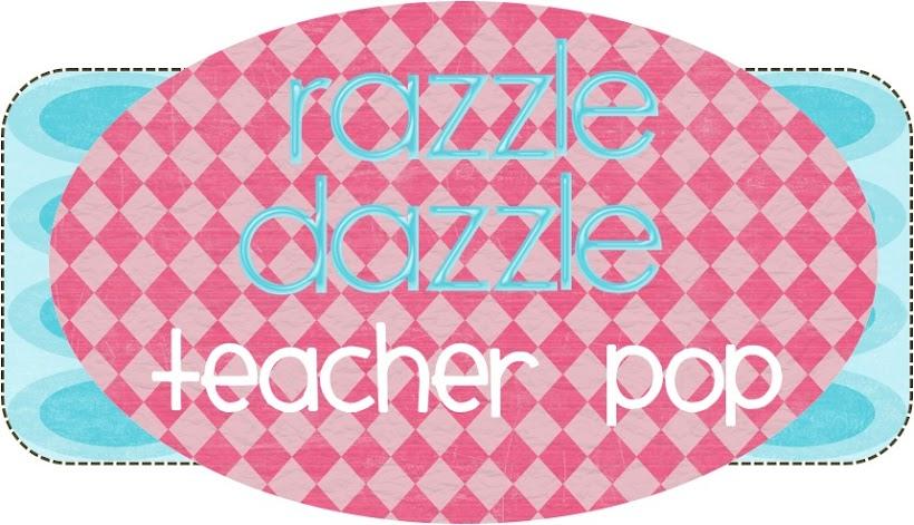 Razzle Dazzle Teacher Pop