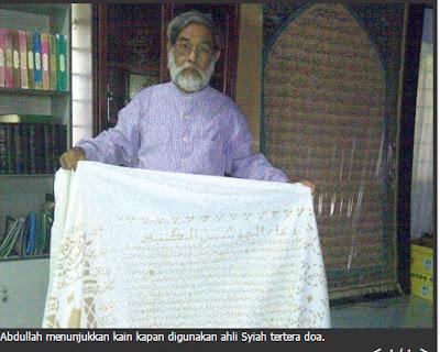 Syiah Melayu Menggunakan Kafan Berwarna Hitam | Ketua Syiah Kedah, Abdullah Hassan Menafikan Perkara Ini